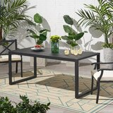 Jaren Aluminum Dining Table