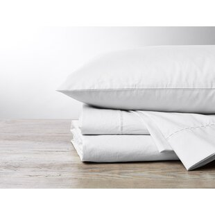 Organic 500 Thread Count Solid Color 100% Cotton Sheet Set (Set of 4)