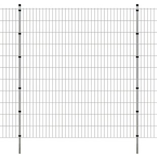 2D 26' X 7' (8m X 2.23m) Picket Fence Panel By Sol 72 Outdoor
