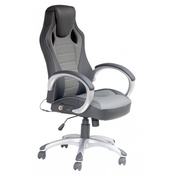 chair office back black modern high gotan in