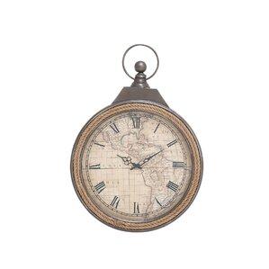 metal rope wall clock