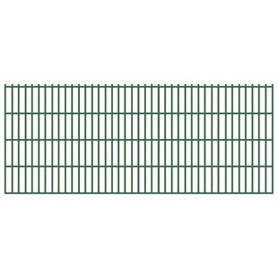 Kylen 2D 131' X 17' (40m X 0.83m) Picket Fence Panel By Sol 72 Outdoor