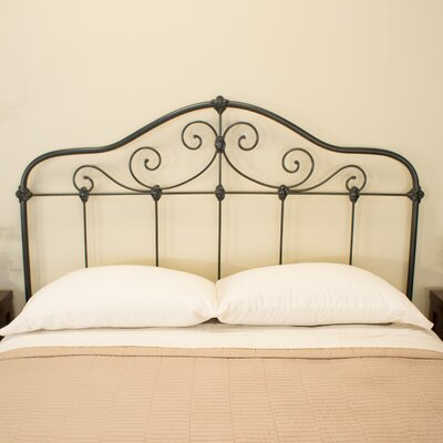 Chardonnay Slat Headboard Benicia Foundry and Iron Works Size: California King