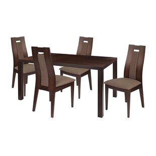 Ebern Designs Leia 5 Piece Dining Set