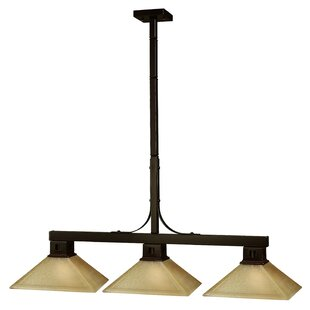 Loon Peak Peiffer 3-Light Pool Table Light
