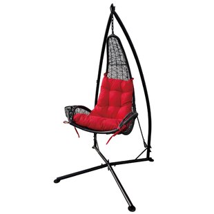 Brayden Studio Rojo Wicker Swing Chair