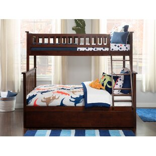 Great deal Abel Twin Over Full Standard Bed with Trundle ByHarriet Bee
