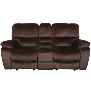 Gracehill Modern Reclining Loveseat by Three Posts