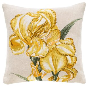 Iris Classic Throw Pillow
