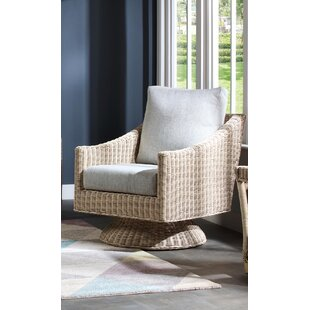 Carly Swivel Armchair By Beachcrest Home