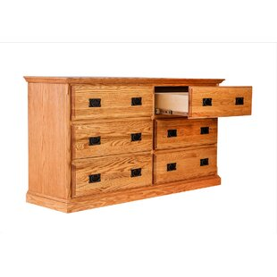 Murdock 6 Drawer Double Dresser
