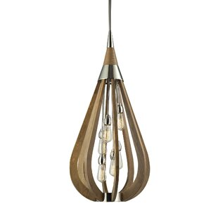 Ivy Bronx Giannini 6-Light Teardrop Pendant