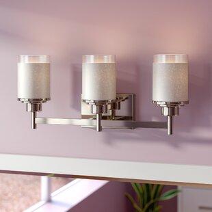 Nash 3-Light Vanity Light by Ebern Designs