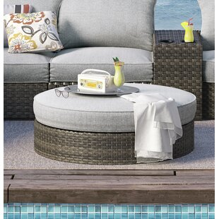 Ivy Bronx Luellen Ottoman with Cushion
