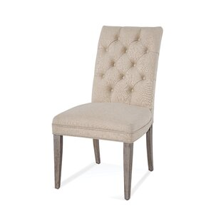 Jewell Upholstered Dining Chair (Set of 2) Gracie Oaks