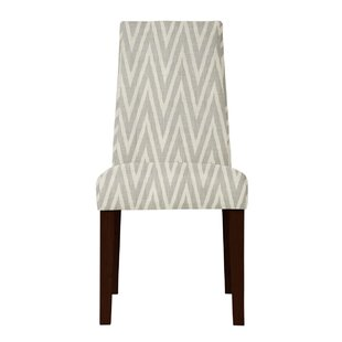 Latitude Run Haddonfield ZigZag Side Chair (Set of 2)