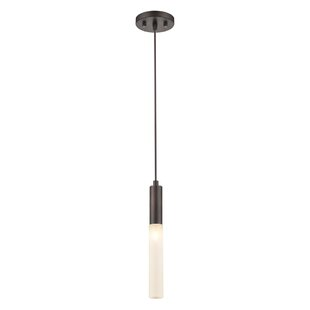 Houtz 1-Light Cylinder Pendant by Wrought Studio