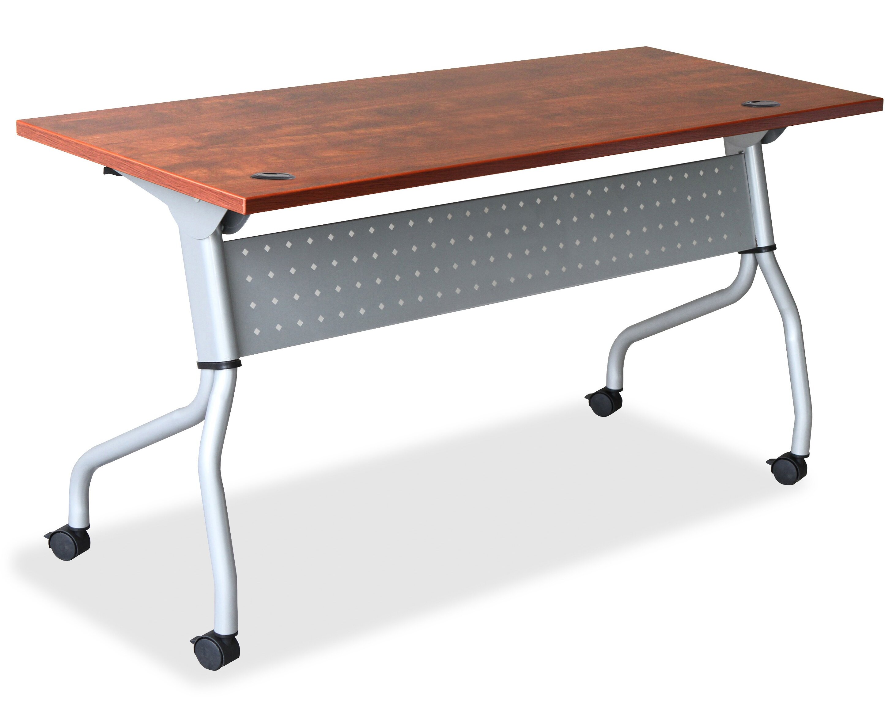 Lorell Flipper Training Table With Wheels Wayfair - Lorell flipper training table