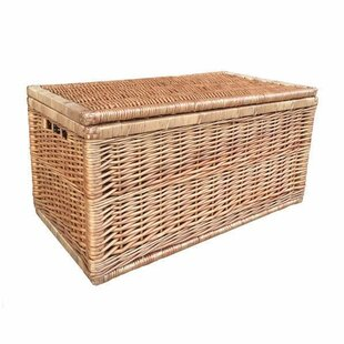 Linen Wicker Basket