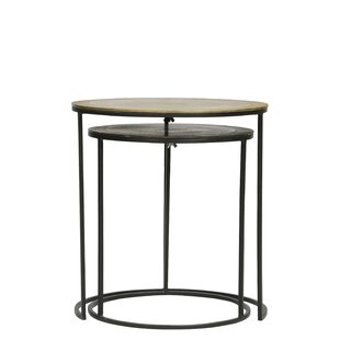 Check Prices Londyn 2 Piece Nesting Tables by Ivy Bronx