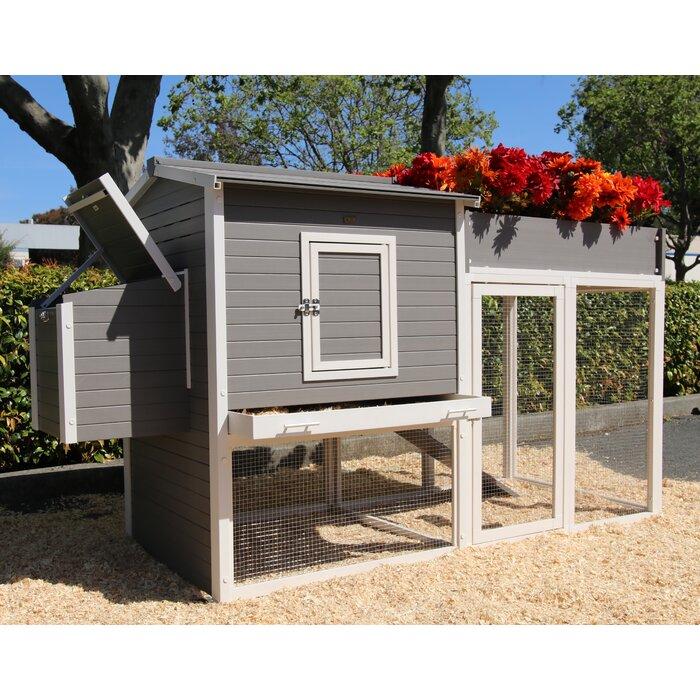 Charmant Josepha Chicken Coop With Rooftop Garden