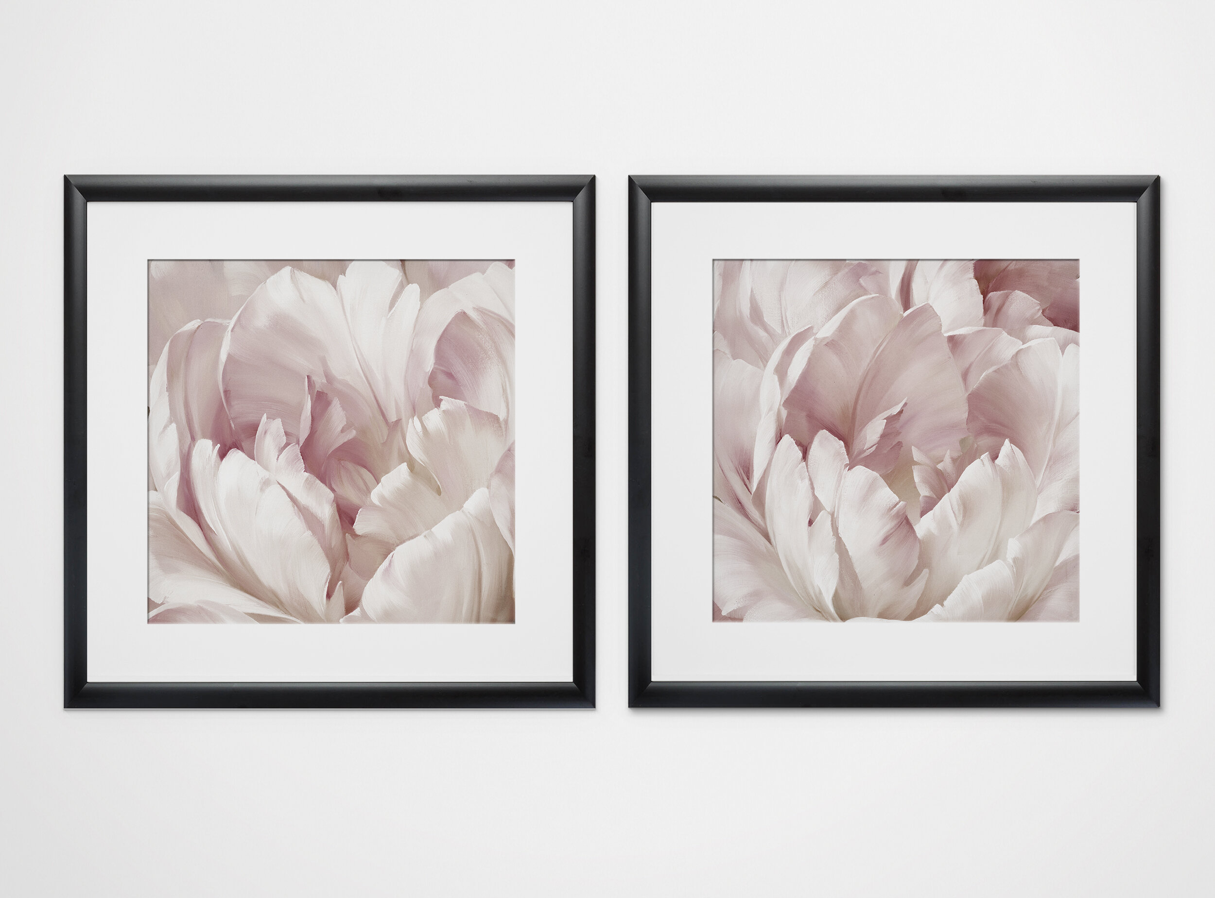 One Allium Way Intimate Blush I 2 Piece Framed Print Set Reviews Wayfair