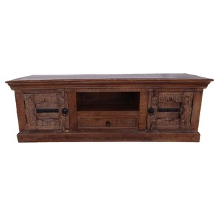 Independence Solid Wood Hand Craved TV Accent Cabinet by World Menagerie