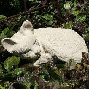 Sleeping Kitten Statue