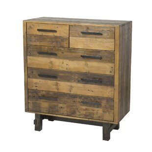 Langner 5 Drawer Chest by Union Rustic