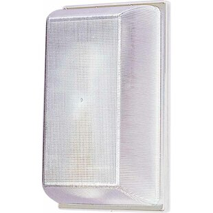 Inexpensive 1-Light Outdoor Flush Mount By Volume Lighting