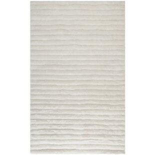 Wyler Hand-Tufted Pearl Area Rug Mercer41