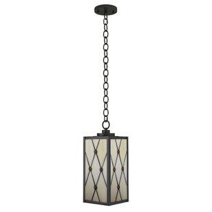 Brett 1-Light Outdoor Hanging Lantern