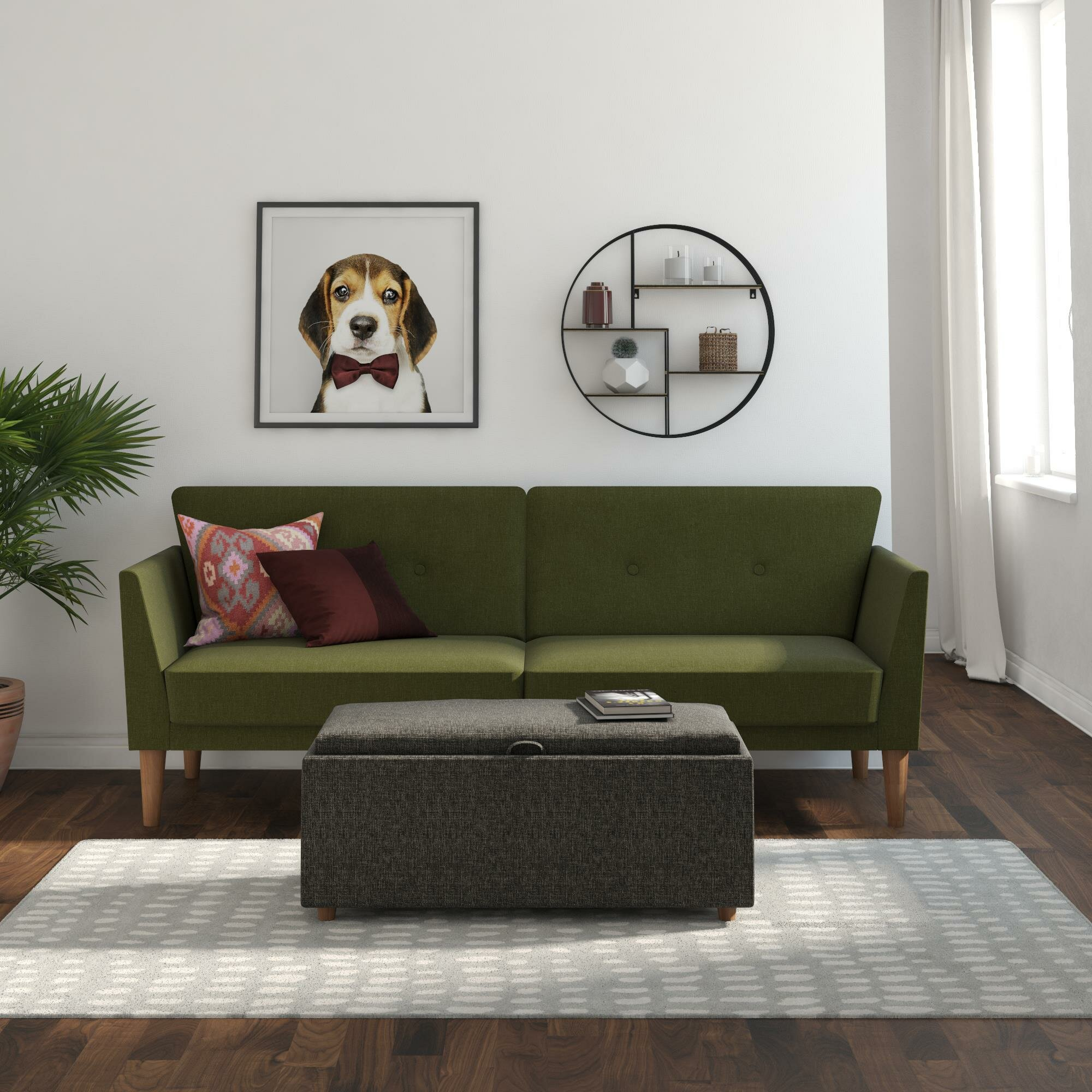 Green Mid Century Modern Sofas You Ll Love In 2020 Wayfair