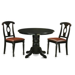 Sherlock 3 Piece Dining Set by August Grove No Copoun