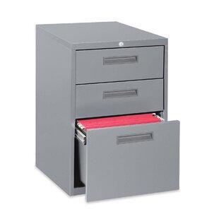 3-Drawer Box/Box/File Mobile Pedestal Files by Lorell