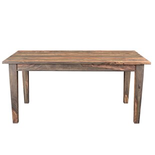 Union Rustic Koch Solid Wood Dining Table