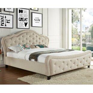 Best Quality Furniture Upholstered Platform Bed