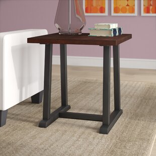Ramos Faux Wood End Table by Wrought Studio