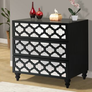 3 Drawer Wooden Chest by Wildon Home๏ฟฝ SKU:EA927520 Description