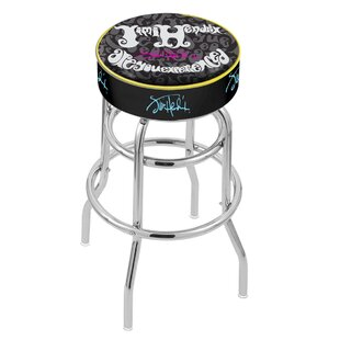 Jimi Hendrix 25 Swivel Bar Stool