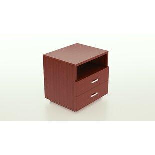 Ebern Designs Horrell 2 Drawer Nightstand
