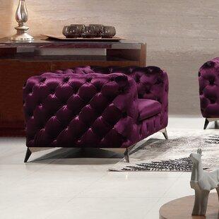 Rosdorf Park Binstead Chesterfield Chair