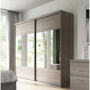Damion 2 Door Sliding Wardrobe By Ebern Designs