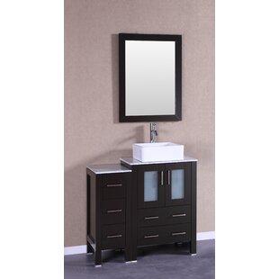 Cambria Greenwich 36 Single Bathroom Vanity Set with Mirror