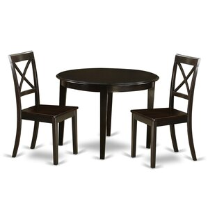 Hillhouse 3 Piece Dining Set by Red Barre..