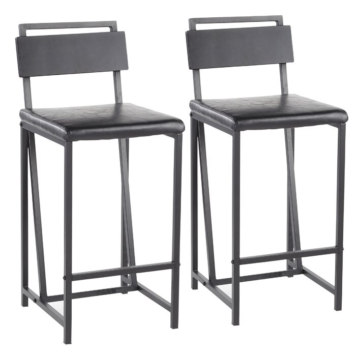 Phenomenal Griggs Industrial 27 Bar Stool Ncnpc Chair Design For Home Ncnpcorg