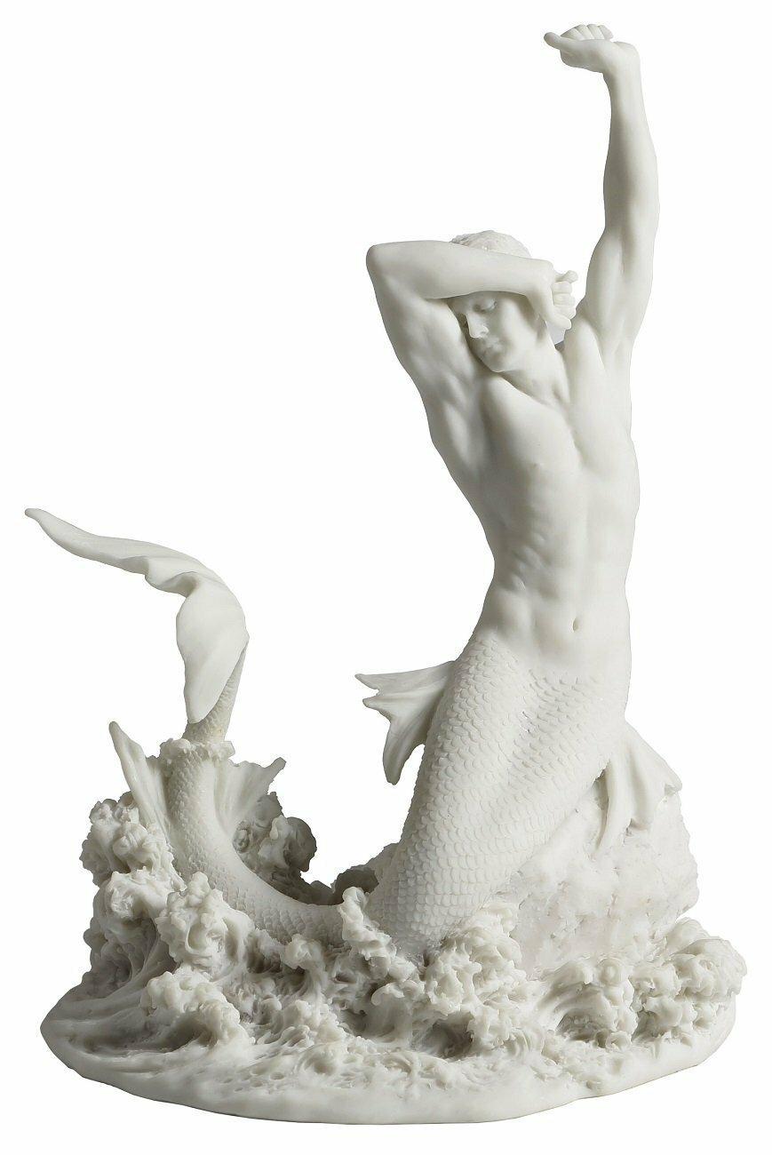 Highland Dunes Borquez Merman Stretching On Rock Figurine Reviews Wayfair