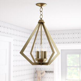 Willa Arlo Interiors Borasisi 5-Light Foyer Pendant