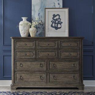Mckibben 10 Drawer Double Dresser