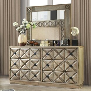 Marilynn 6 Drawer Double Dresser